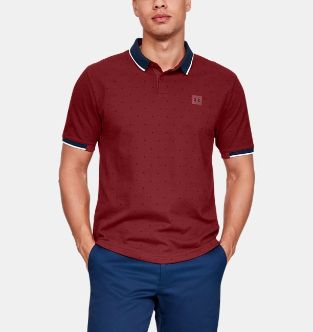 Mens UA Ace Novelty Polo
