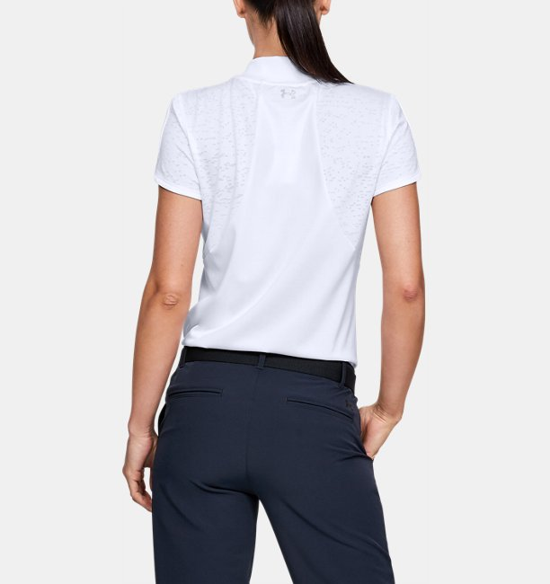 Womens UA Vanish Jacquard Polo