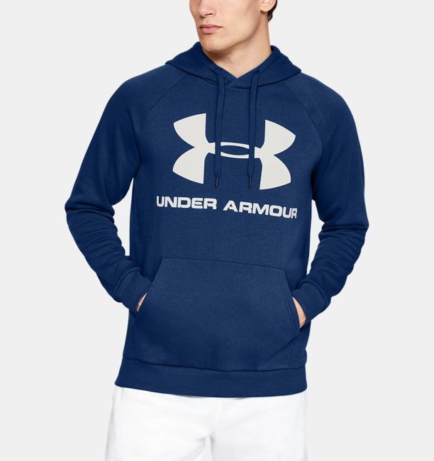 Sudadera con Capucha UA Rival Fleece Logo para Hombre