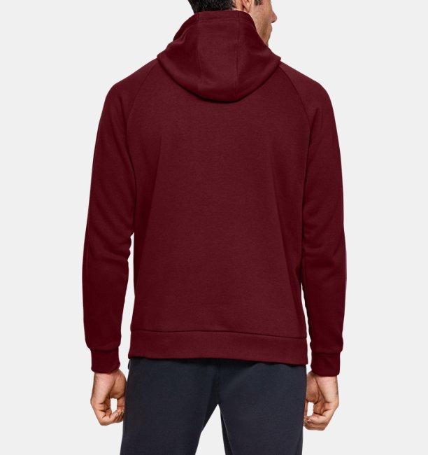 Mens UA Rival Fleece Logo Hoodie