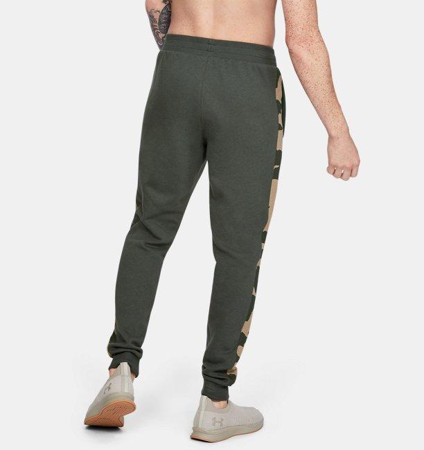 Pantalones de Entrenamiento UA Rival Fleece Printed para Hombre
