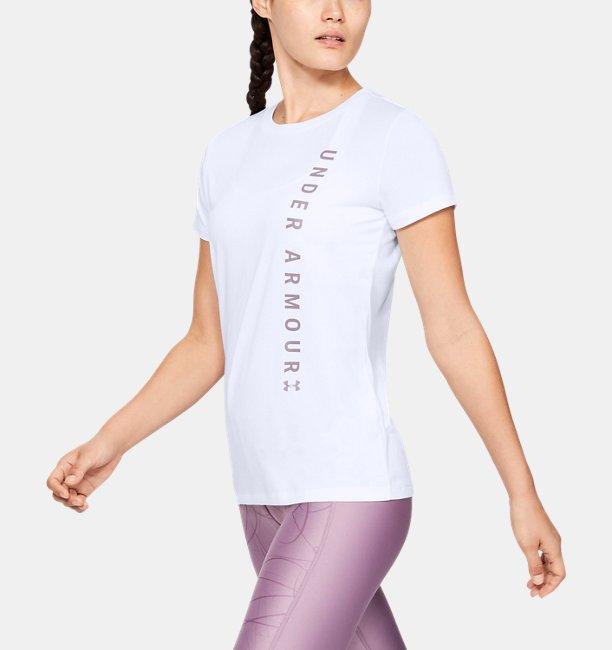Womens UA Tech™ Wordmark Graphic Short Sleeve