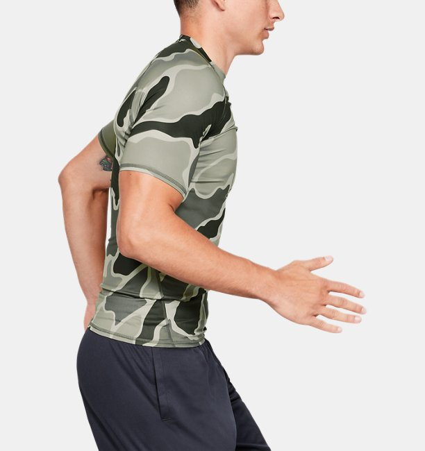 Mens HeatGear® Armour Short Sleeve