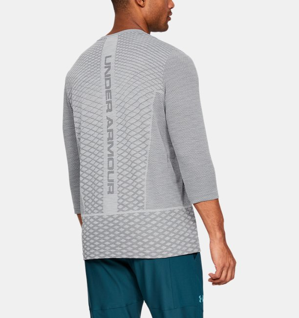 Mens UA Vanish Seamless ¾ Sleeve