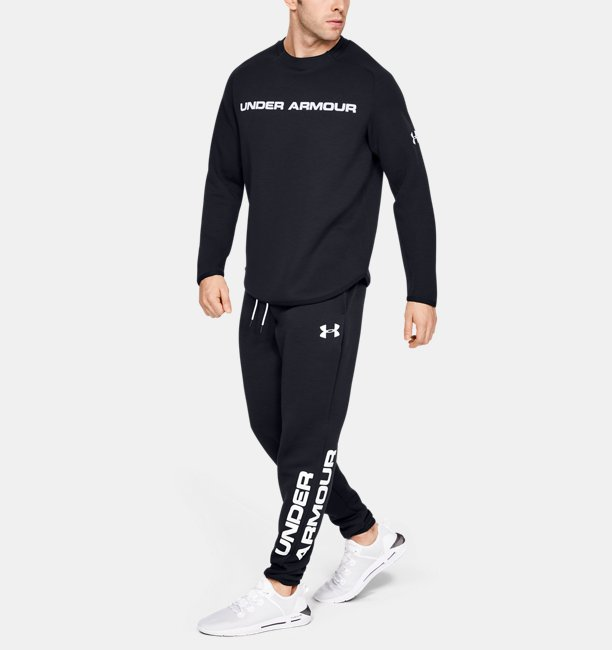 Mens UA Move Light Graphic Crew