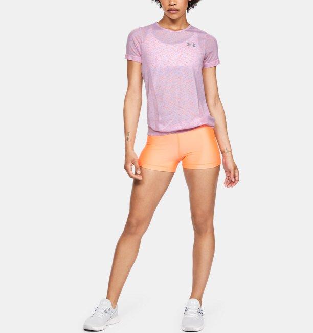 Womens UA Vanish Seamless Short-Sleeve Spacedye