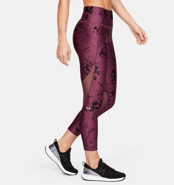 Womens HeatGear® Armour Print Ankle Crop
