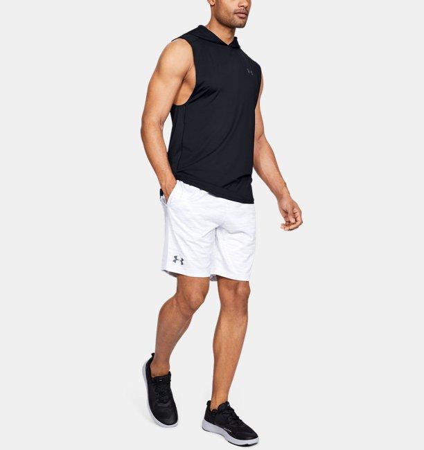 Felpa con cappuccio senza maniche UA MK-1 da uomo