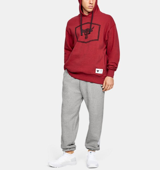 Mens Project Rock Warm-Up Hoodie