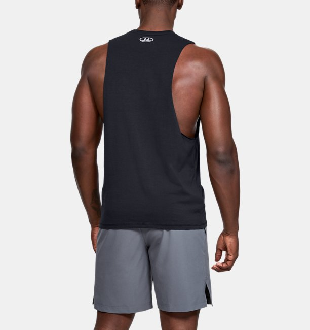Mens Project Rock Blood Sweat Respect Tank