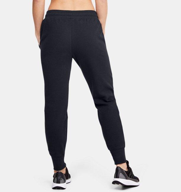 Womens UA Microthread Fleece Graphic Pants