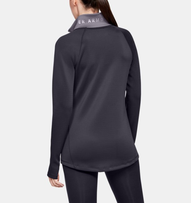 Womens ColdGear® Armour ½ Zip Colour Block