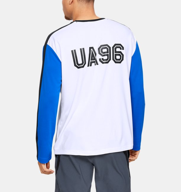 Mens UA Always On Long Sleeve Jersey
