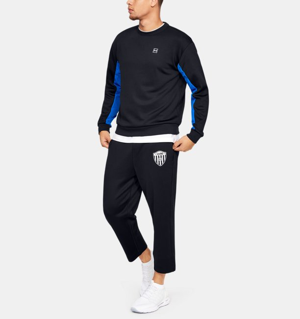 Mens UA Always On Double Knit Crew