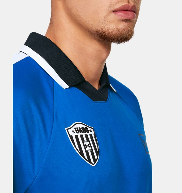 Mens UA Always On Soccer Short Sleeve Jersey
