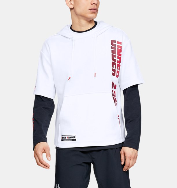 Mens UA Always On Short Sleeve Hoodie