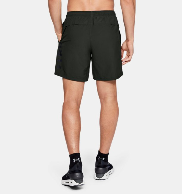 Herren UA Speed Stride Shorts aus Webstoff mit Grafik (18 cm)