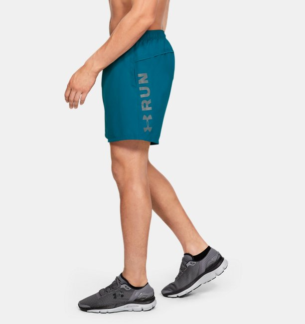 Herenshorts UA Speed Stride Graphic Woven 18 cm
