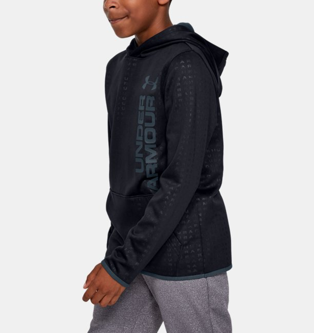 Boys Armour Fleece® Embossed Hoodie