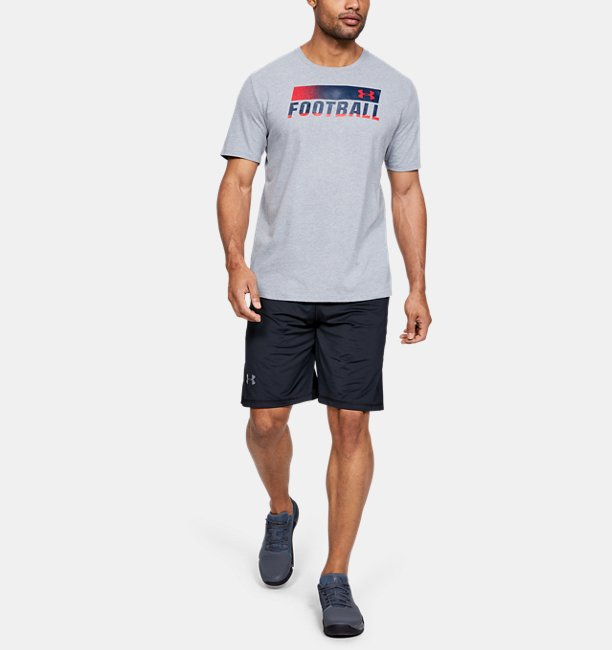 Mens UA Football Fade T-Shirt