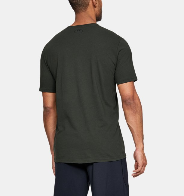 Mens UA Football Stack T-Shirt