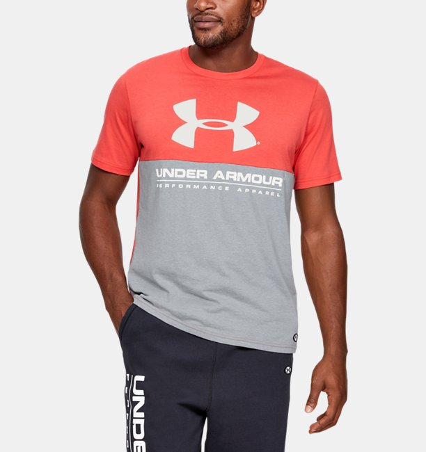Herren UA Performance Apparel Kurzarmshirt