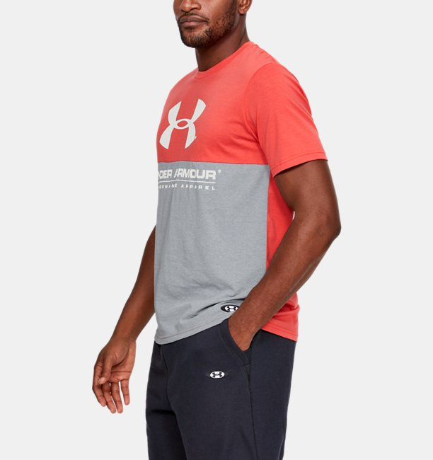 Camiseta de Treino Masculina Under Armour Performance Apparel