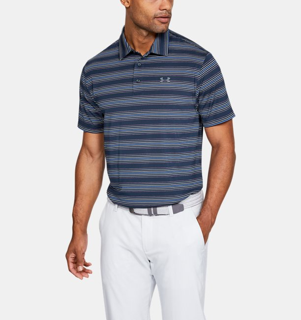 Men's UA Playoff Stripe Polo