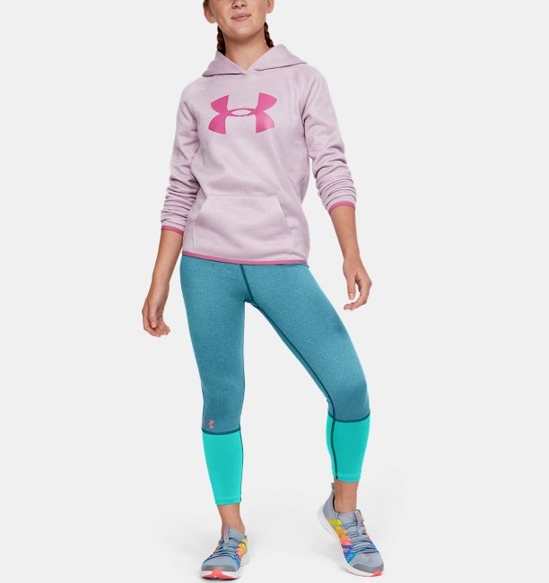 Girls HeatGear® Armour Heather Ankle Crop