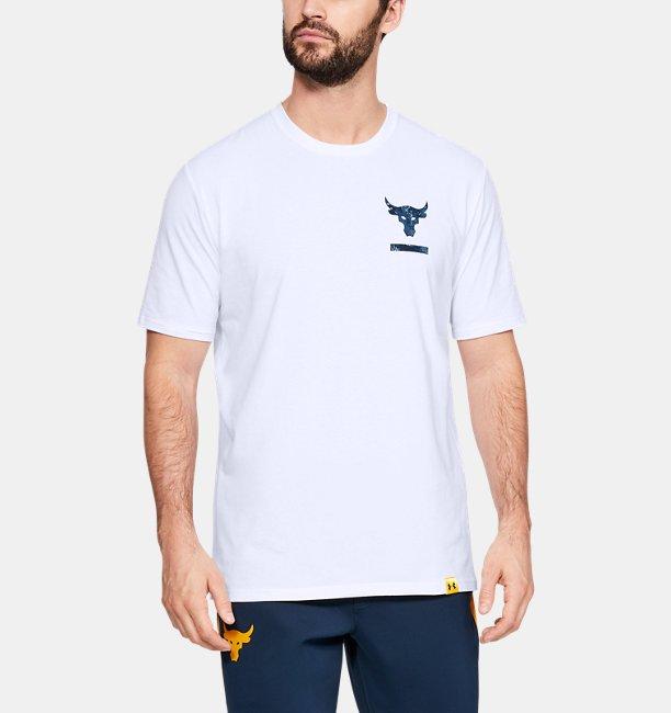 Mens Project Rock BSR Short Sleeve Shirt