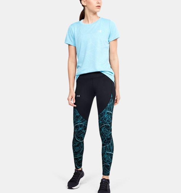 Womens UA Reflect Hi-Rise Printed Leggings
