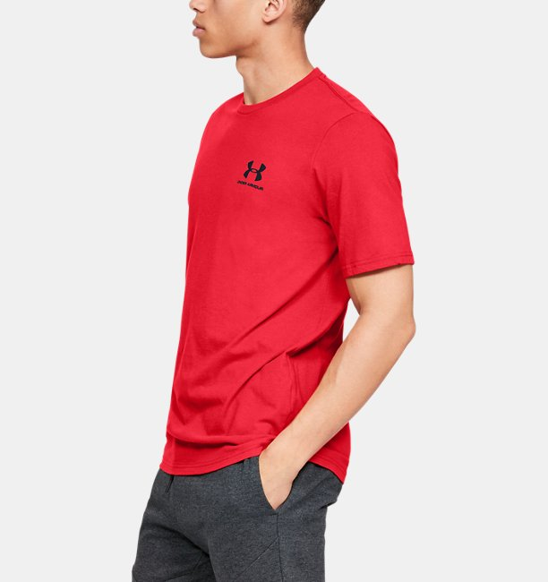 Heren T-shirt UA Sportstyle LC Back