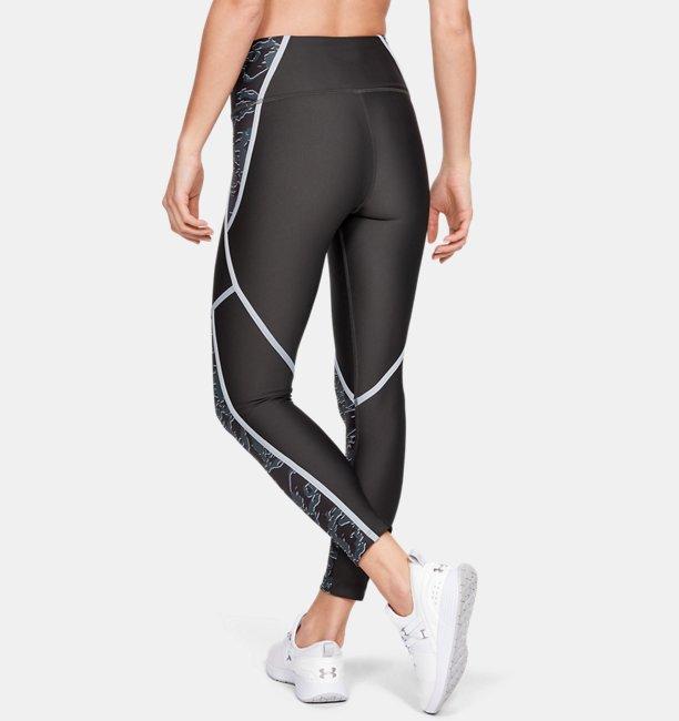 Womens HeatGear® Armour Edgelit Print Ankle Crop