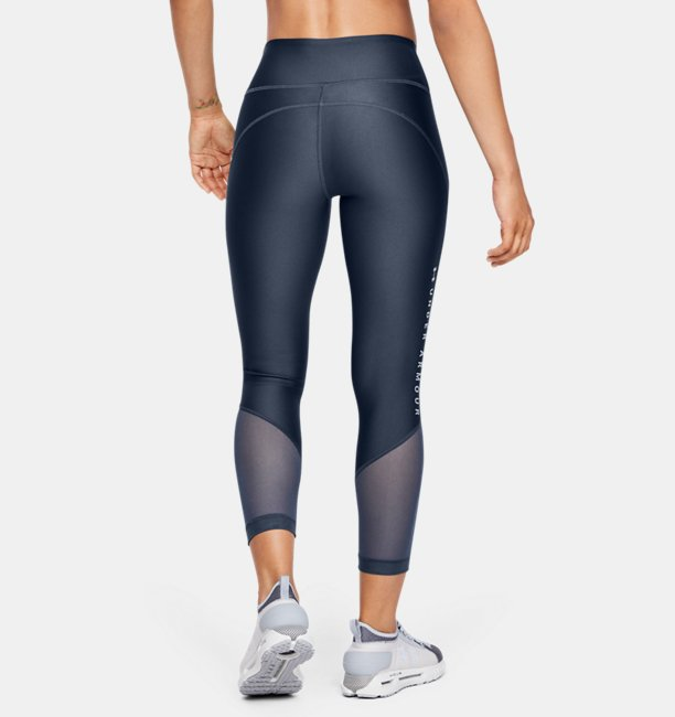 Dameslegging HeatGear® Armour Mesh Graphic Ankle Crop