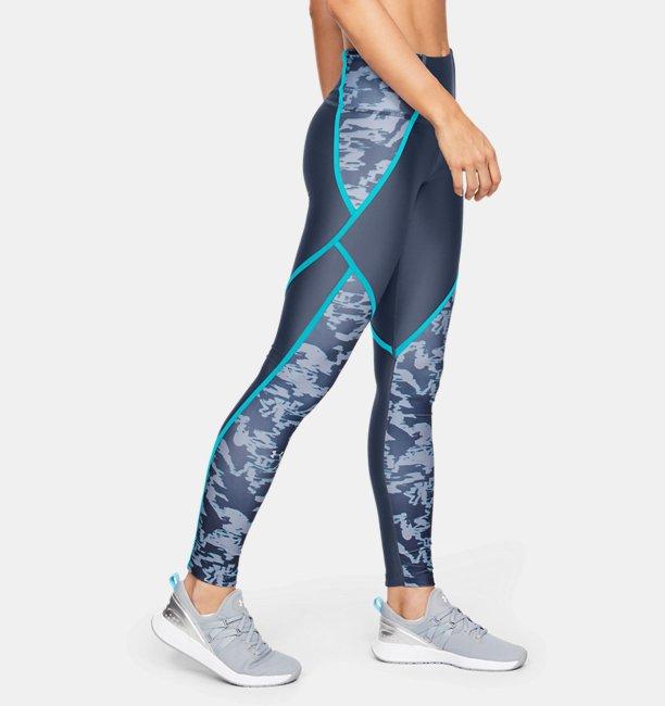 Womens HeatGear® Armour Edgelit Print Leggings