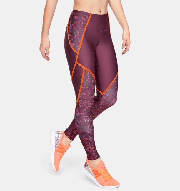 Leggins HeatGear® Armour Edgelit Print para Mujer