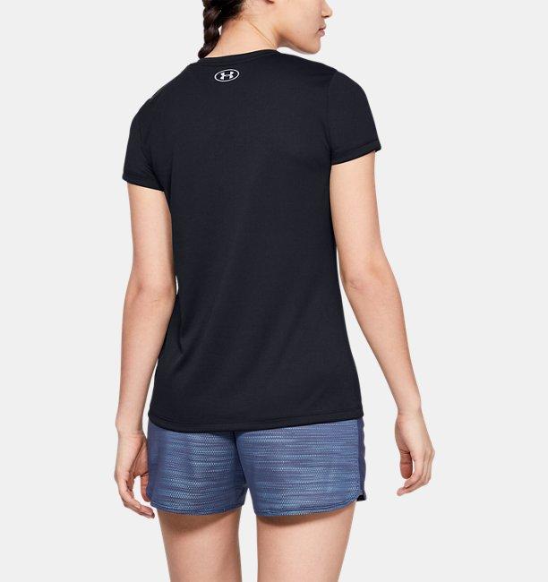 UAテック ショートスリーブ V ネック グラフィック(トレーニング/Tシャツ/WOMEN)