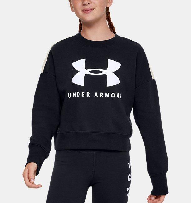 Girls UA Sportstyle Fleece Crew