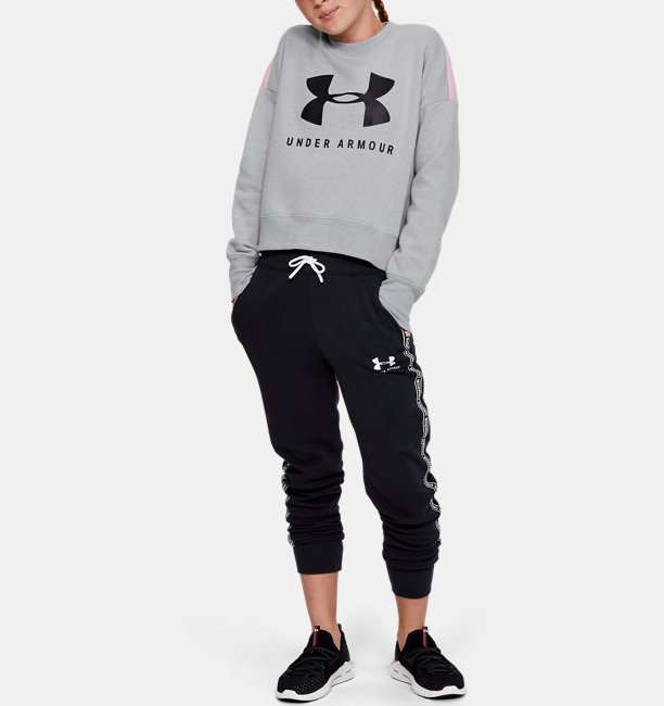 Girls UA Sportstyle Fleece Crew