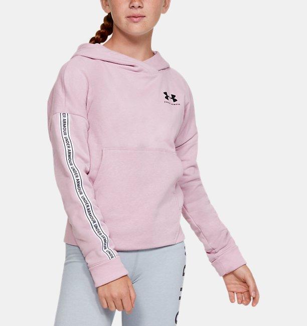 Girls UA Sportstyle Fleece Hoodie