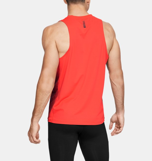 Mens UA RUSH™ Run Track Singlet