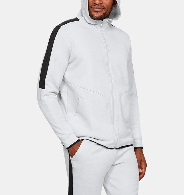 Mens UA Recover Fleece Full Zip