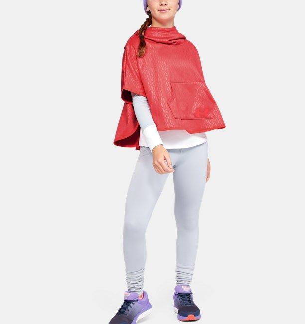Girls Armour Fleece® Emboss Poncho