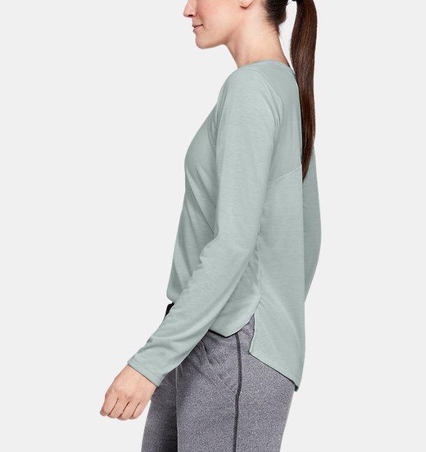 Womens UA Whisperlight Mesh Long Sleeve