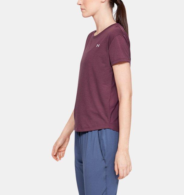 UAウィスパーライト オーバーサイズ ショートスリーブ(トレーニング/Tシャツ/WOMEN)