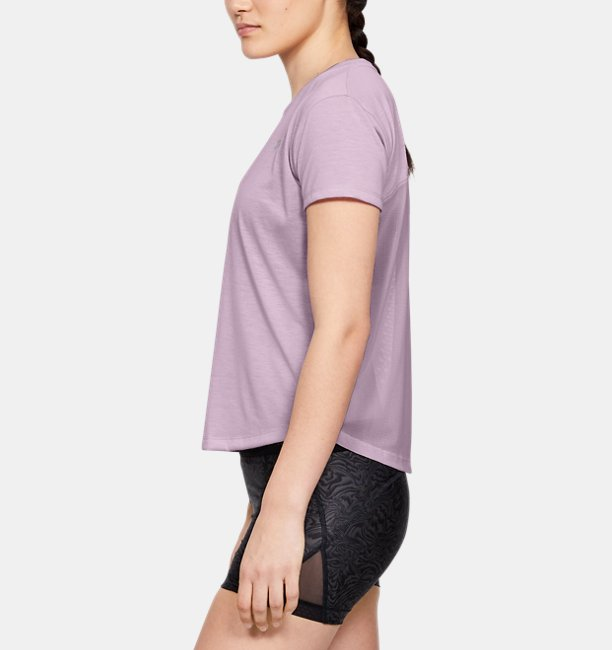Womens UA Whisperlight Mesh Short Sleeve
