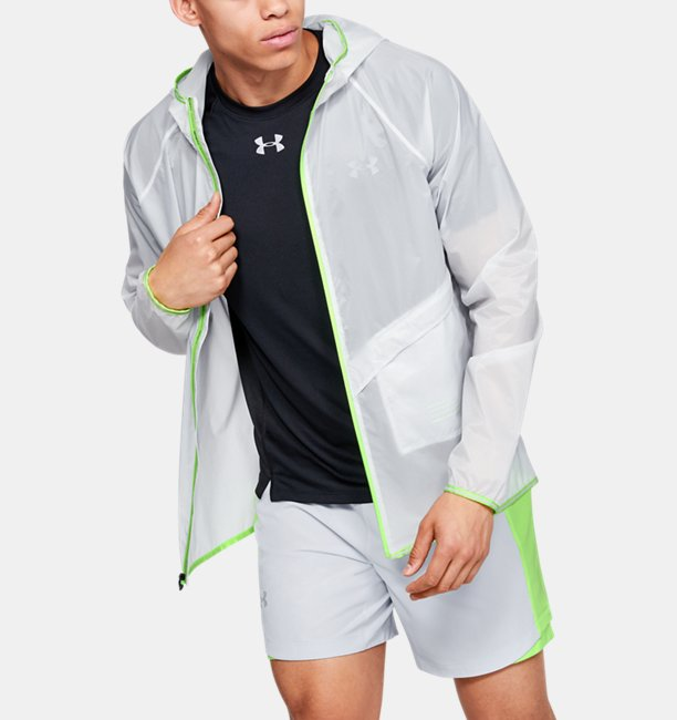 Mens UA Qualifier Storm Run Packable Jacket
