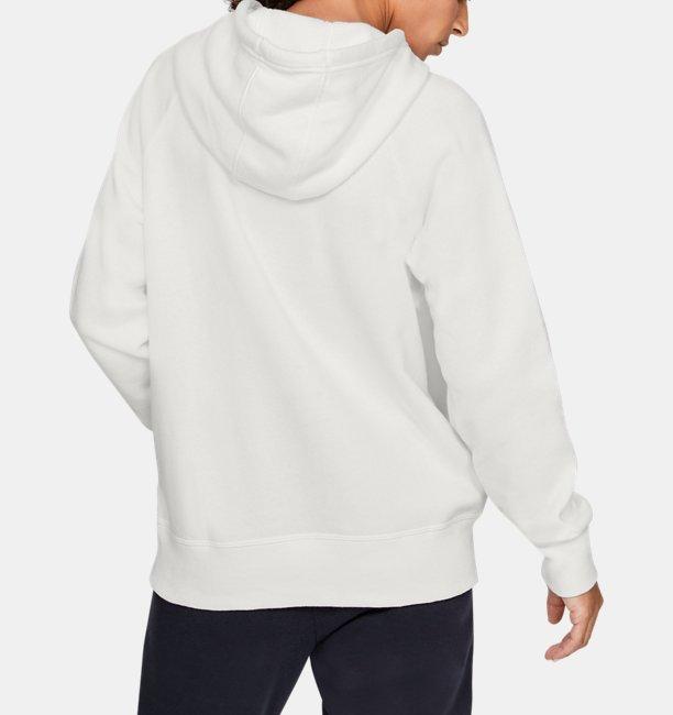 Damen UA Rival Fleece Sportstyle Hoodie mit Grafik