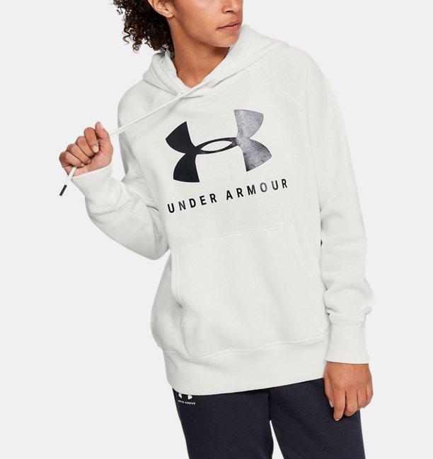 Polerón UA Rival Fleece Sportstyle Graphic para Mujer
