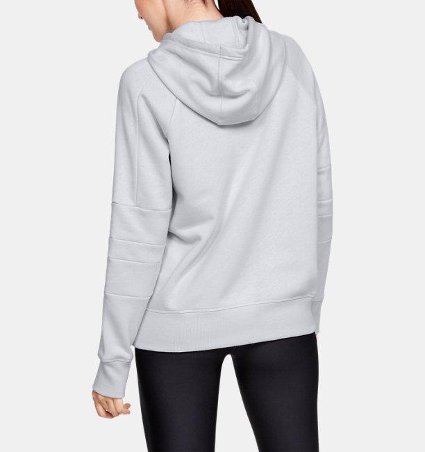 Womens UA Rival Fleece LC Logo Hoodie
